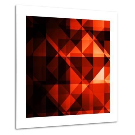 Abstract Geometrical Background Metal Print