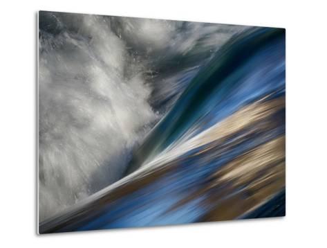 River Wave Metal Print