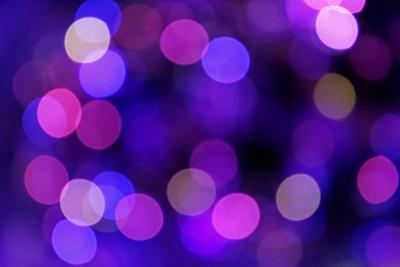 Festive Blue and Purple Background with Boke by ???????? ??????