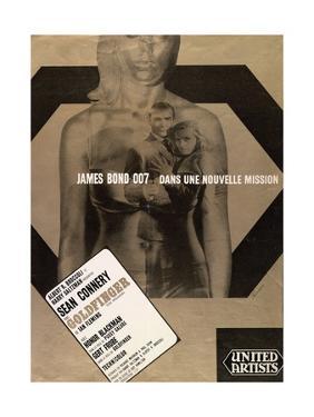 """007, James Bond: Goldfinger, 1964, """"Goldfinger"""" Directed by Guy Hamilton"""