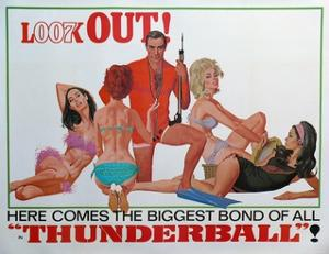 007, James Bond: Thunderball, 1965