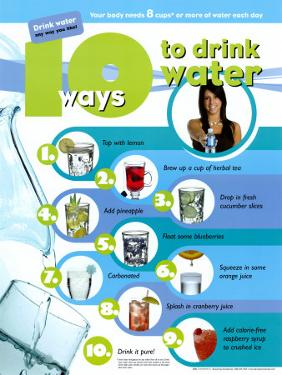 10 Ways To Drink Water