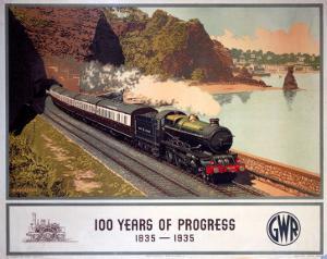 100 Years of Progress, 1835-1935, GWR, c.1935