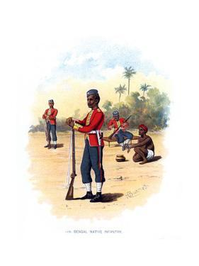 11th Bengal Native Infantry, C1890 by H Bunnett