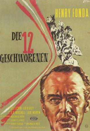 12 Angry Men, German Movie Poster, 1957