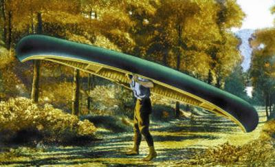 15 Foot 50 Lb. Model Canoe
