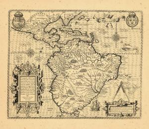1592, Mexico, Central America, South America