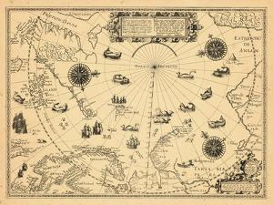 1598, Greenland, Finland, Iceland, Norway, Russia, Sweden, North Pole, Arctic Ocean