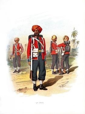 15th Sikhs, C1890 by H Bunnett