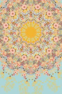 Sunshine Floral Mandala by 16.0