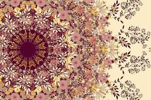 Wildflowers Mandala by 16.0