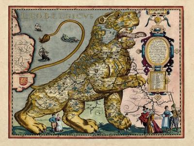 1617, Europe, Leo Belgicus