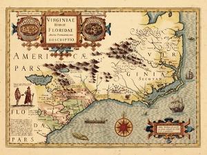 1619, South Carolina, North Carolina, Florida, Georgia, Virginia