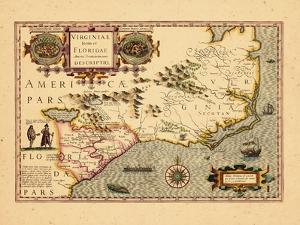 1630, Georgia, Florida, North Carolina, South Carolina, Virginia