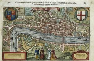 16th-Century Map of London