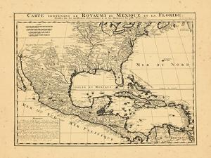 1719, Mexico, Caribbean, United States, West Indies, Central America