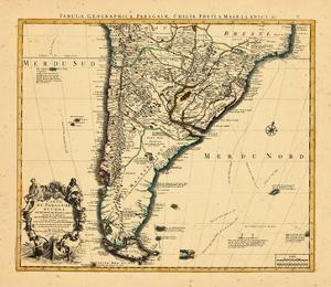 1721, Argentina, Chile, South America