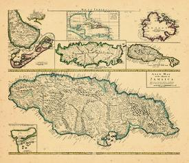 Affordable Maps of The Caribbean Posters for sale at ...