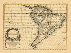 1721, South America