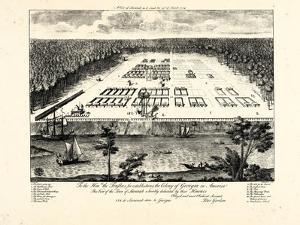 1734, Savannah Bird's Eye View, Georgia, United States