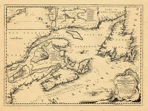 1746, New Brunswick, Newfoundland and Labrador, Nova Scotia, Prince Edward Island