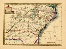 Map Of Florida Georgia South Carolina.Affordable Maps Of South Carolina Prints For Sale At Allposters Com