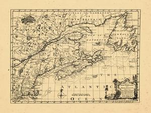 1758, New England, New Brunswick, Newfoundland and Labrador, Nova Scotia, Ontario