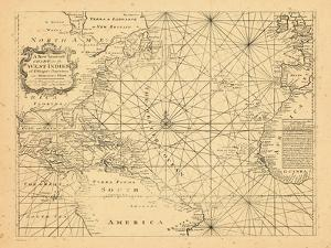 1773, Chart, West Indies, Atlantic Ocean