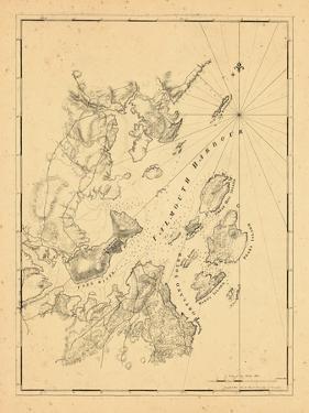 1776, Falmouth Harbor, Maine