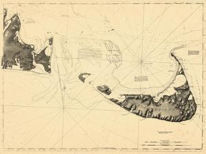 1776, Nantucket Island and the Eastern Half of Martha's Vineyard, Massachusetts