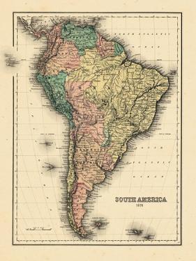 1780, South America