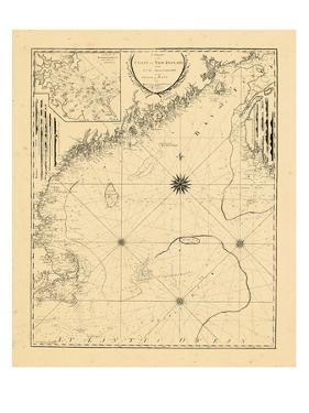 1798, A CHART/OF THE/COAST OF NEW ENGLAND/From the/SOUTH SHOAL TO CAPE SABLE/INCLUDING/GEORGES BANK