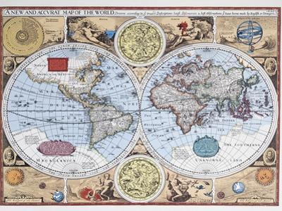 17th Century Map of the World
