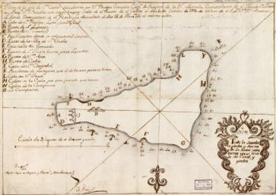 1803 Map of Easter Island