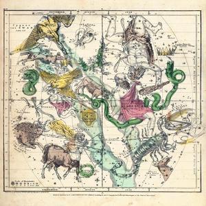 1835, Constellations July - September