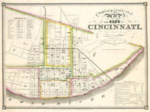 1841, Cincinnati 24x29, Ohio, United States