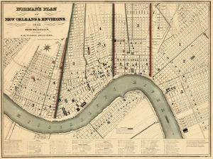 1845, New Orleans 1845, Louisiana, United States