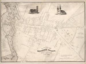 1846, Brunswick 1846, Maine, United States
