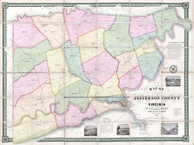 Maps Of West Virginia Posters At AllPosterscom - West virginia us map