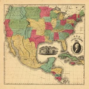 1852, Mexico, United States, Central America