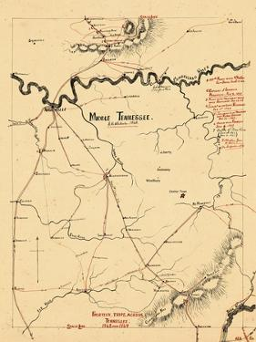 1863, Middle Tennessee 1863, Tennessee, United States