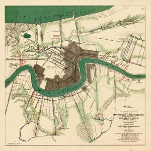 1863, New Orleans City Approaches, Louisiana, United States