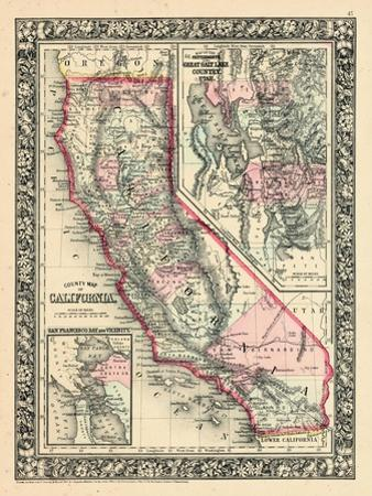 1864, California, Utah, San Francisco Bay Mitchell Plate, California, United States
