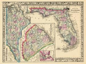 1864, North Carolina, South Carolina, Florida, North Carolina, United States