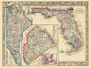 1864, North Carolina, South Carolina, Florida, North Carolina, United States