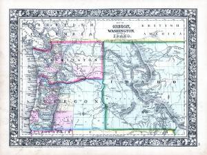1864, Oregon, Washington and Idaho Mitchell Plate, Idaho, United States