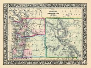1864, Oregon, Washington and Idaho, Oregon, United States