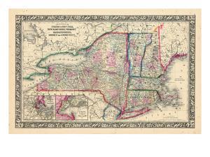 1864, United States, Connecticut, Maine, Massachusetts, New Hampshire, New Jersey, New York, Penn