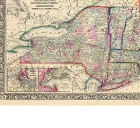 Affordable Maps of New Hampshire Posters for sale at AllPosters.com
