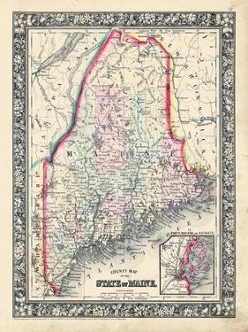 1864, United States, Maine, North America, Maine